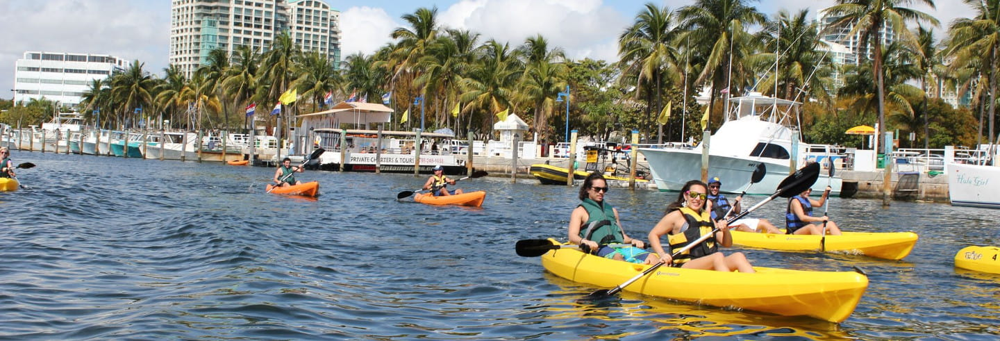Giro in kayak a Miami