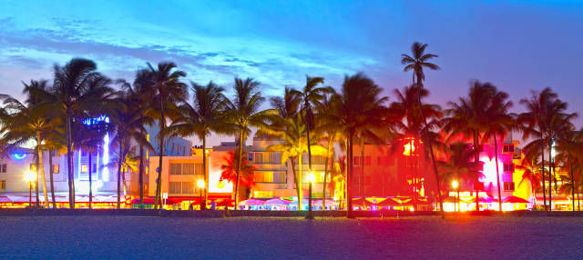 Tour nocturno por Miami