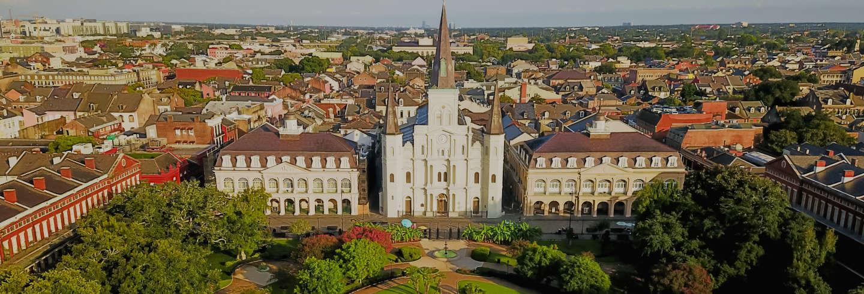 Visite du Quartier Français + Cimetière Saint-Louis