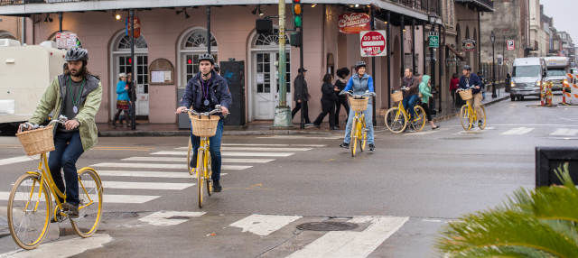 Tour in bicicletta di New Orleans