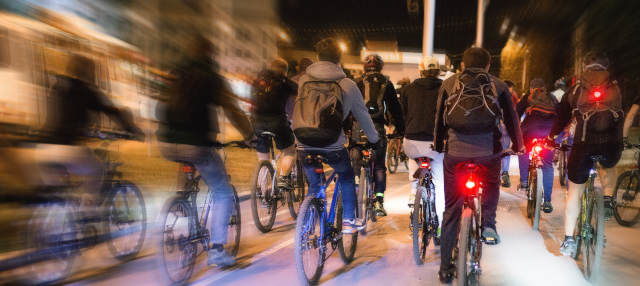 Tour de los fantasmas en bicicleta