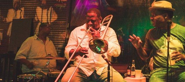 Tour nocturno del jazz por Nueva Orleans