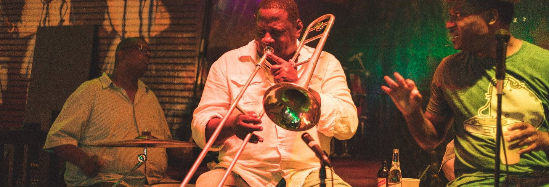 Tour noturno do jazz por New Orleans