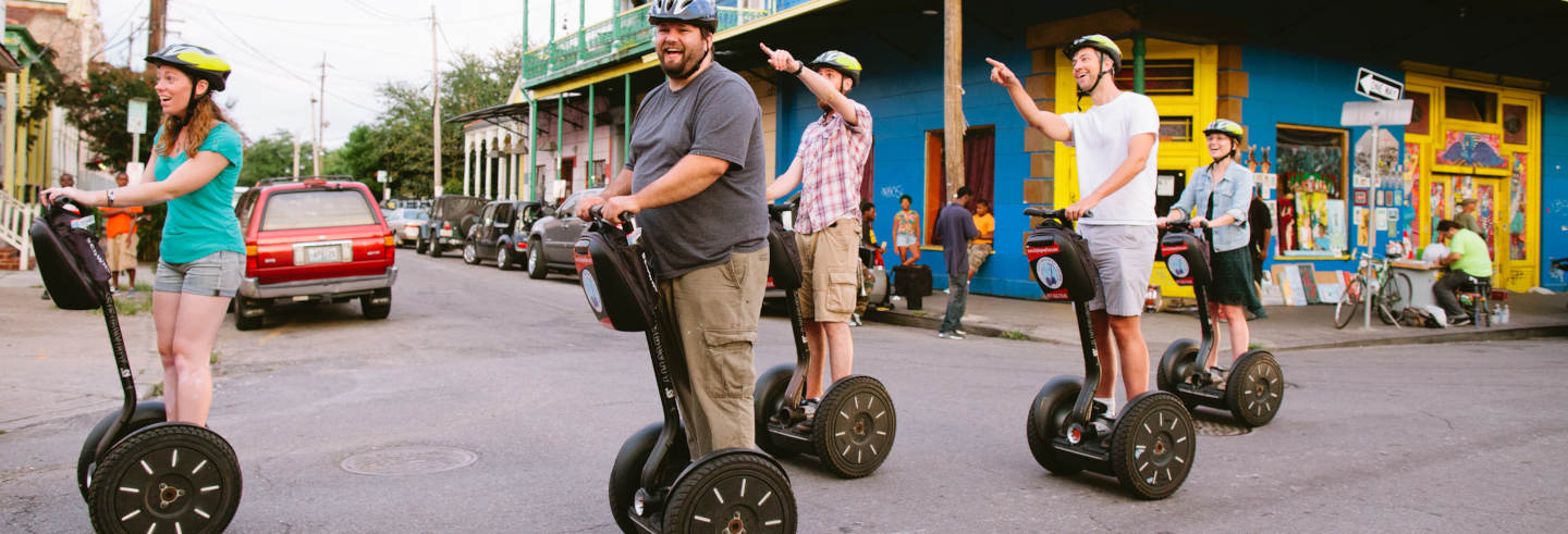 Tour in segway di New Orleans