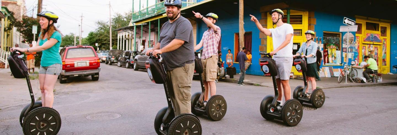 Tour en segway dans la Nouvelle-Orléans