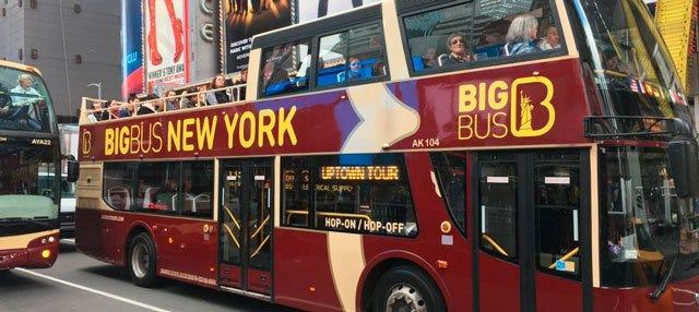New York Hop On Hop Off Big Bus Tours New York
