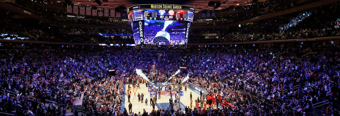 Ingresso para os New York Knicks
