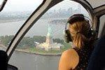 Tour en hélicoptère au-dessus de New York