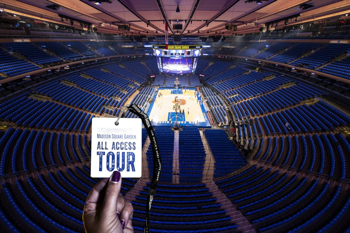 Madison Square Garden: New York Madison Square Garden All Acess Tour