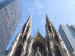 Intentaron quemar la Catedral de Nueva York