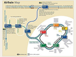 Airport New York Map.How To Get To New York City Airports And Airlines