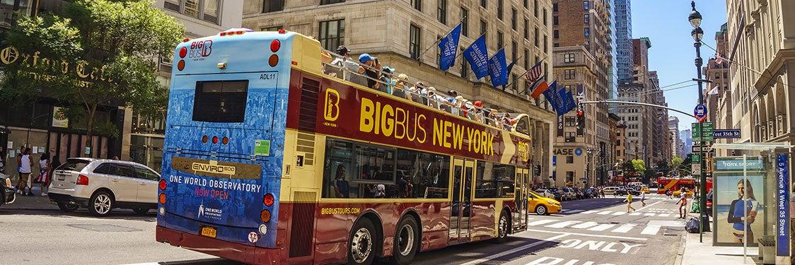 Bus touristique de New York