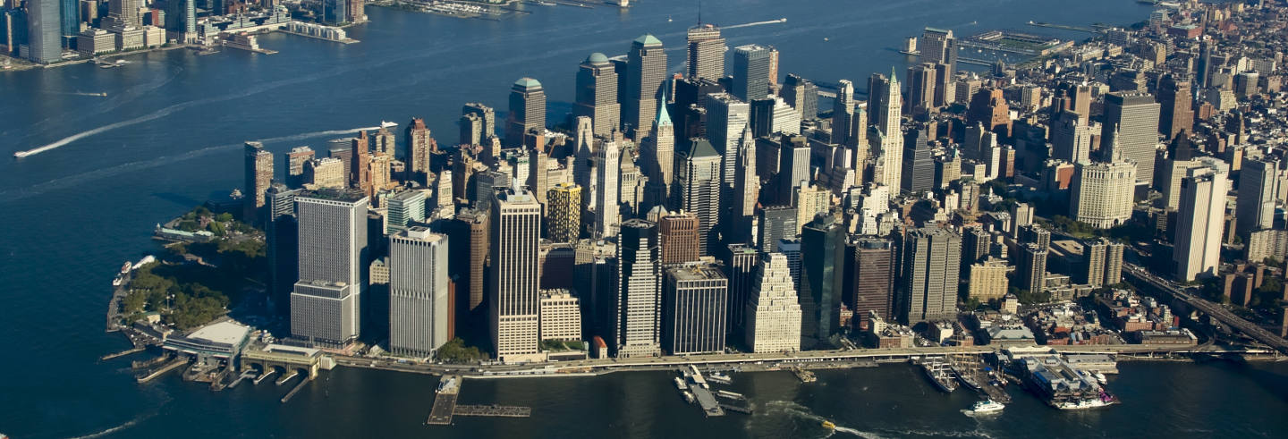 New York Helicopter Flight, Cruise and Walking Tour
