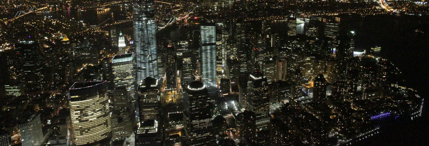 Night Helicopter Tour of New York