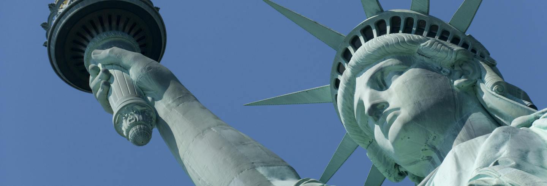 Estatua de la Libertad con subida a la corona