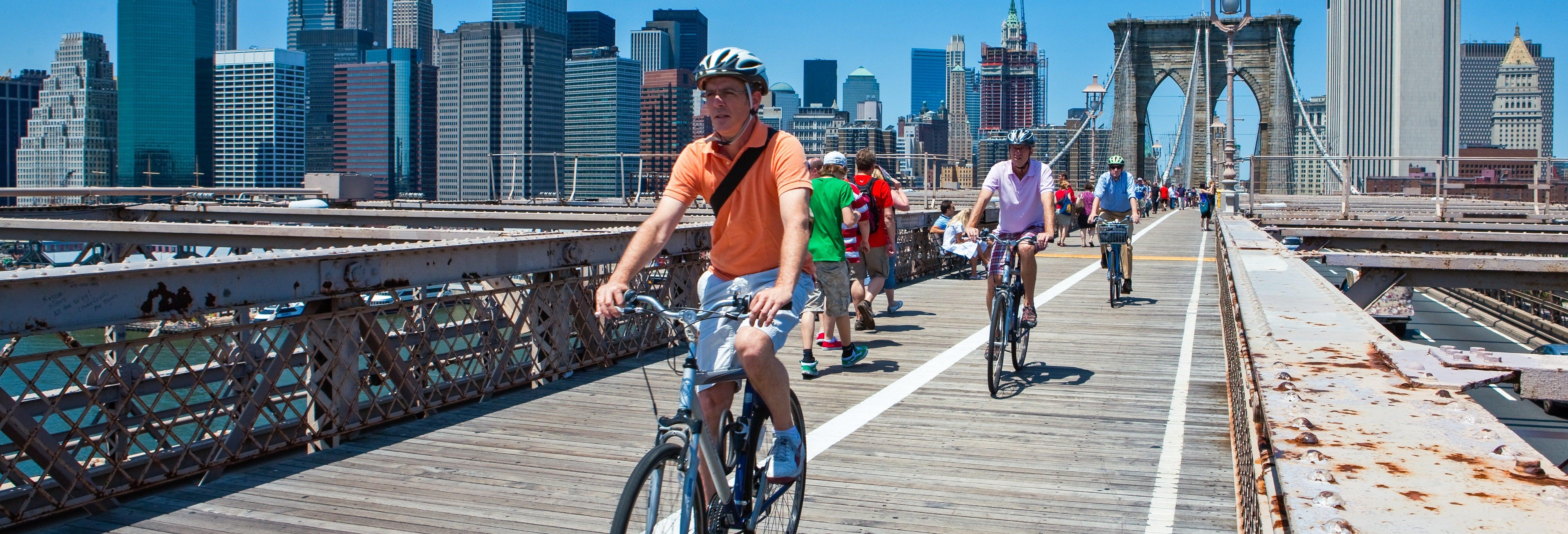 Visite privée dans New York à vélo