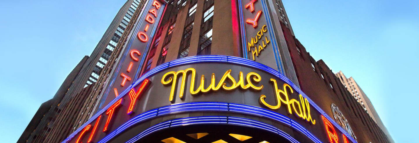 Ingresso do Radio City Music Hall