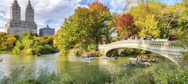 Tour por los escenarios de series y películas de Central Park