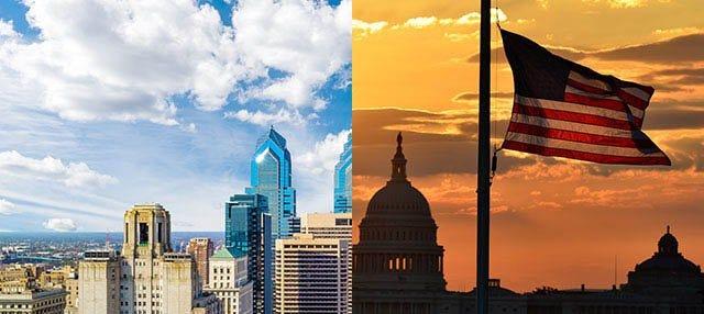 Tour de 2 días a Washington y Filadelfia