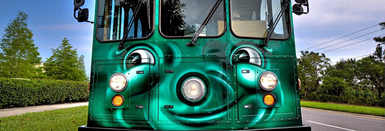 Trolleybus touristique d'Orlando
