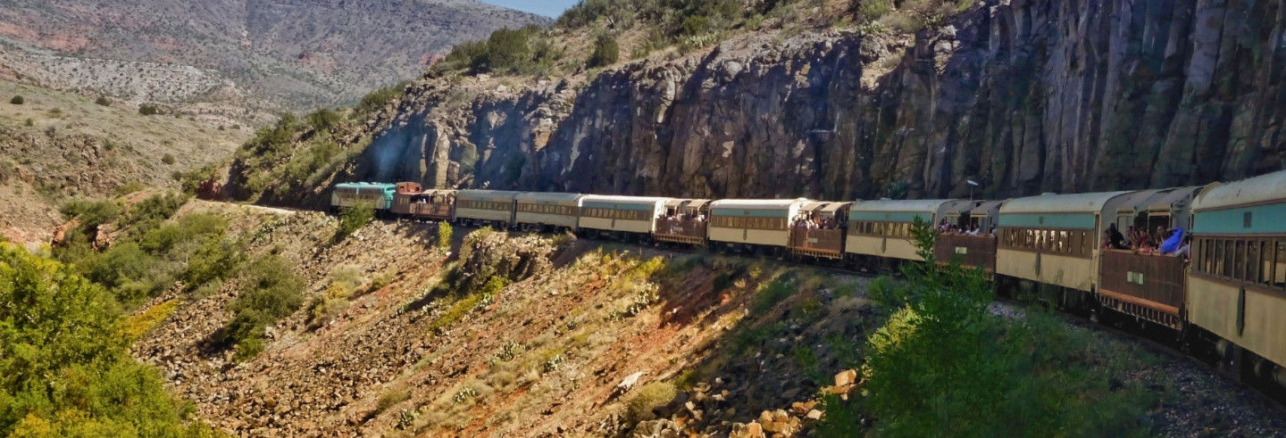 Jerome and Clarkdale Tour and Verde Canyon Train