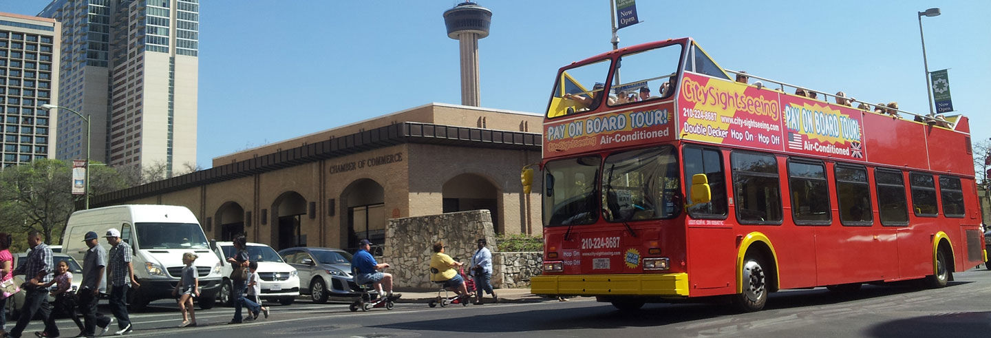 San Antonio Tourist Bus