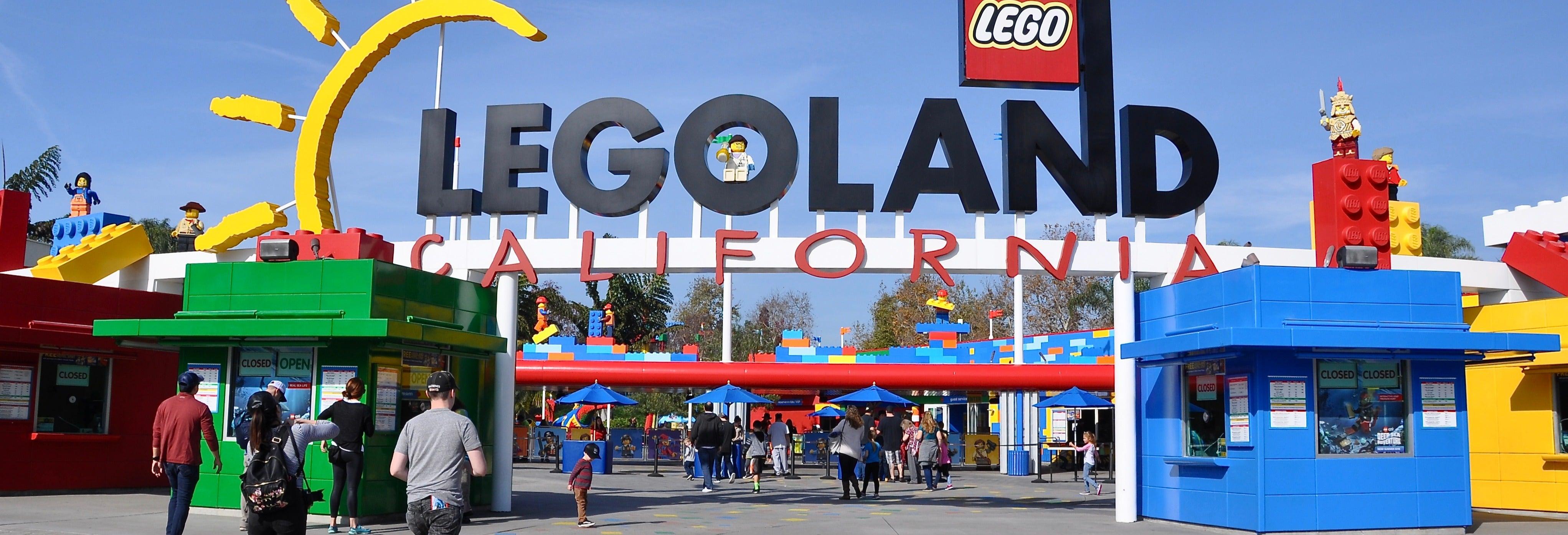 Ingresso do LEGOLAND California