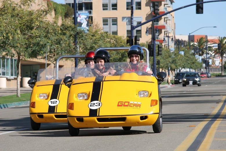 Visite en voiture électrique dans San Diego
