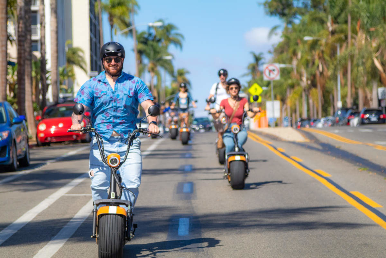 Balade à moto électrique dans San Diego