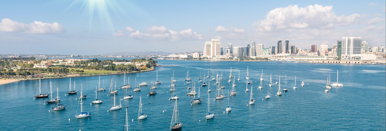 Visite en bus amphibie à San Diego