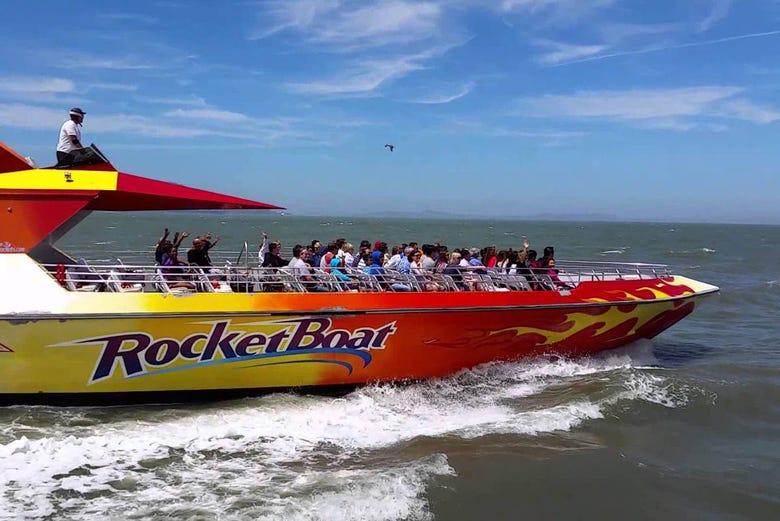 Rocketboat Ride