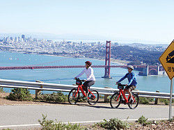 Exploring San Francisco by bike