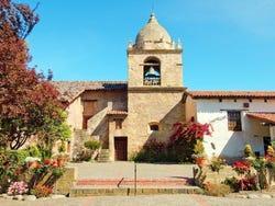 The St. Carlos Borromeo mission, in Carmel