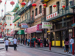 The oldest Chinatown in North America