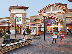 Shopping at the Outlets