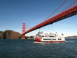 Sailing under the Golden Gate