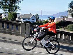 Electric bike rental in San Francisco