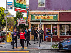 Exploring the Mission District of San Francisco