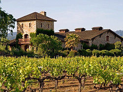 One of the famous Napa Valley wineries
