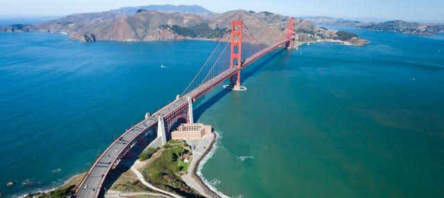 Paseo en hidroavión por la bahía de San Francisco