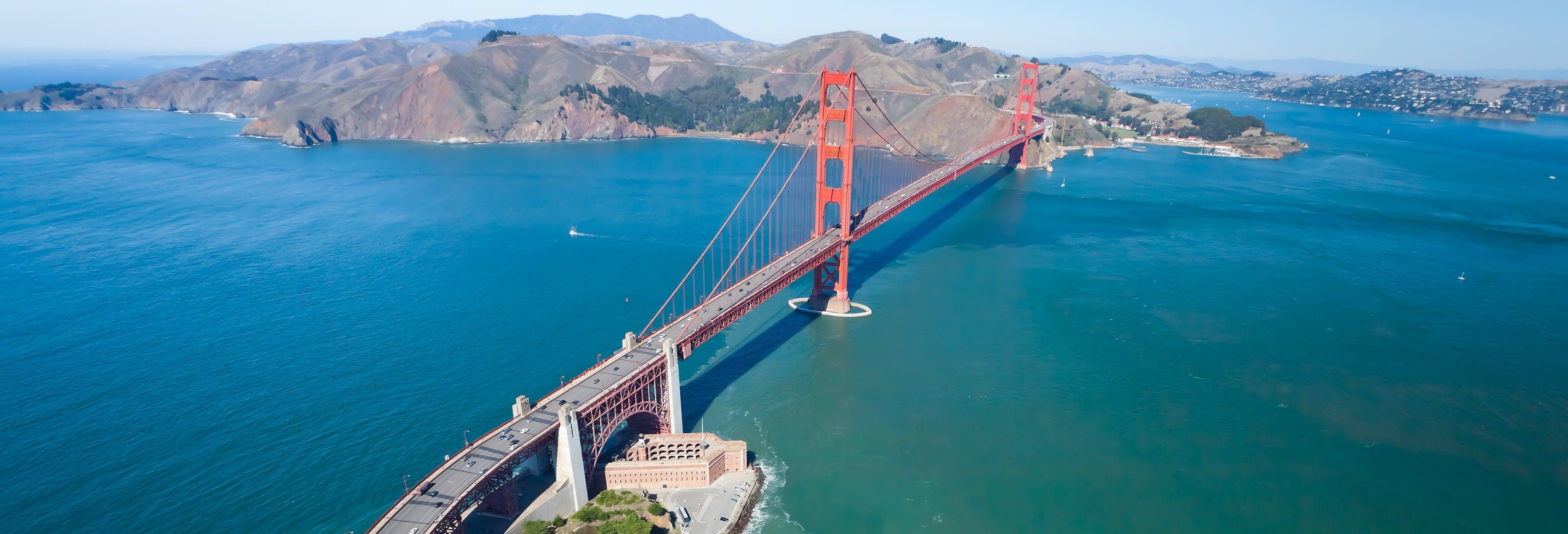 Balade en hydravion sur la baie de San Francisco