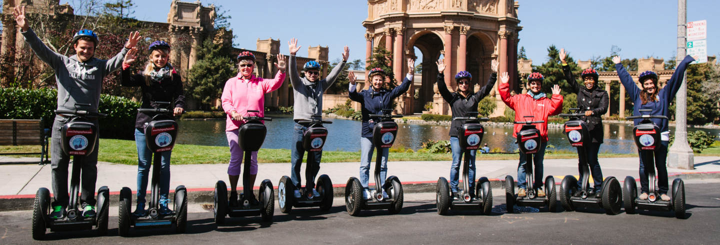 Tour di San Francisco in segway