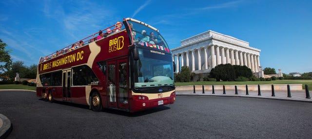 Autobús turístico de Washington DC