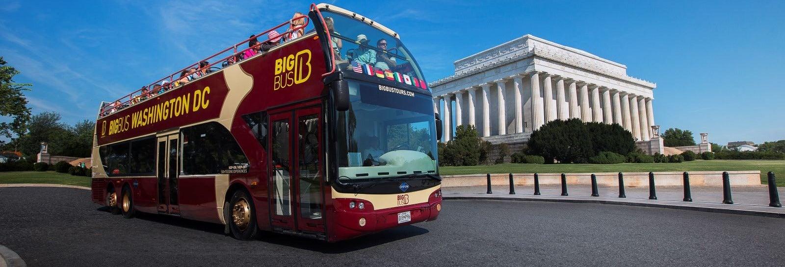 Ônibus turístico de Washington DC
