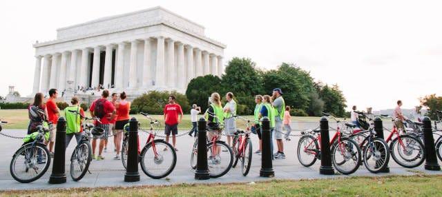Tour en bicicleta por el cementerio de Arlington y alrededores