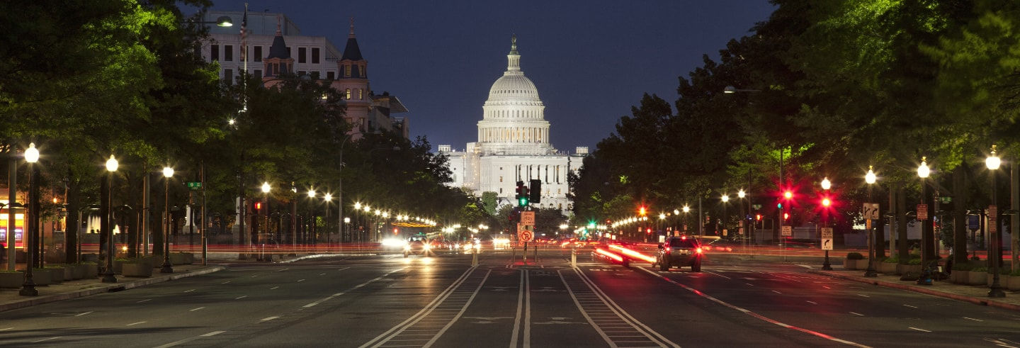 Tour nocturno por Washington DC