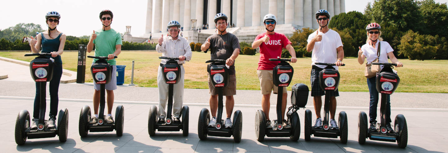 Tour en segway por Washington DC