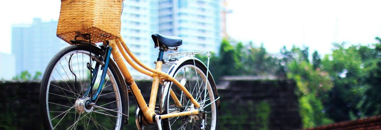 Tour en bicicleta de bambú por el barrio Poblacion