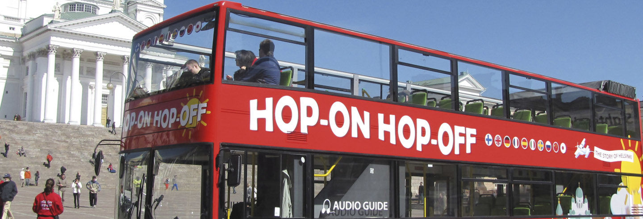 Bus touristique d'Helsinki