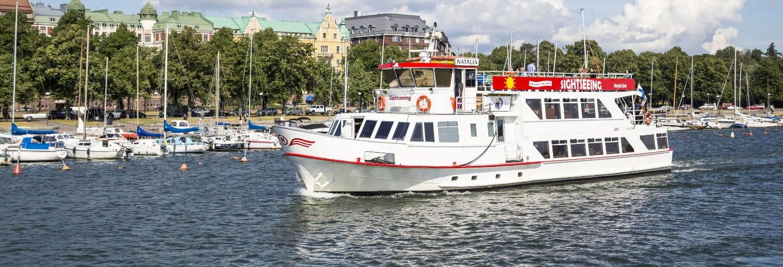 Barco turístico de Helsinki